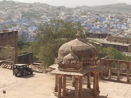 fortaleza de Mehrangarh y Jaswant Thada