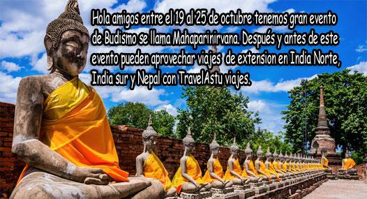 Mahaparinirvana Tour 2017