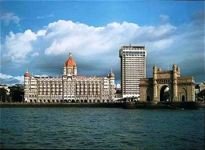Gatway of India (Puerta de la India) y Taj Hotel, Mumbai