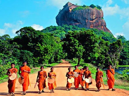 Sigiriya y Lion Rock